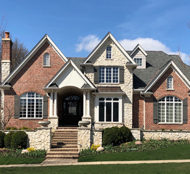 Designer Shingles in Stone Gate Grey